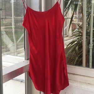 Victoria's Secret Intimates & Sleepwear - Sultry red silk slip